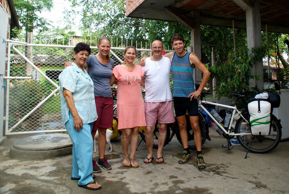 With Philippe, Annie and his Mam in Caucasia.