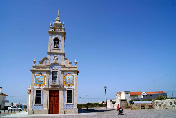 Little typical portuguese church.