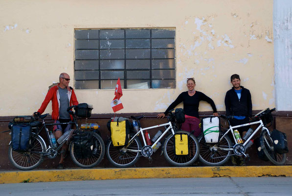 First stop after Cajamarca, San Marcos. We stayed with Quique at the church (parroquia).