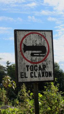 Tocar el Claxon!