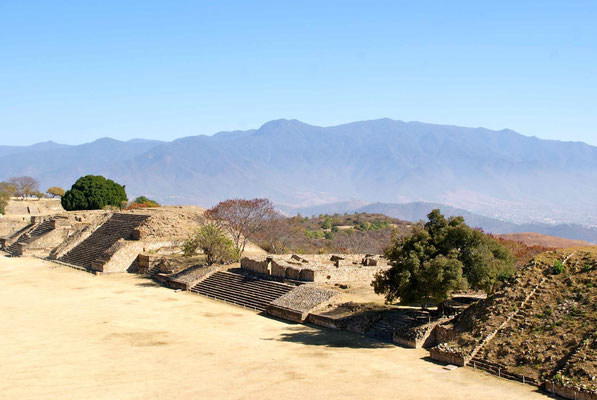 Monte Alban is an ancient Zapotec capital and archaeological site.