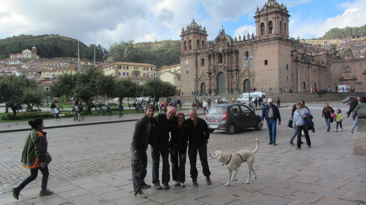 Cusco with Alicia and Quique.