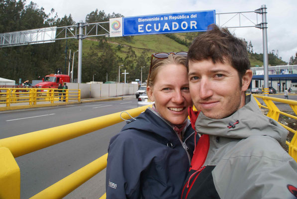 At the border to Ecuador.