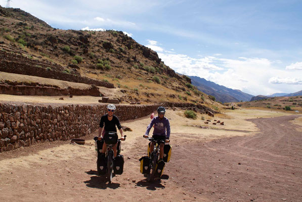 On the road from Cusco.