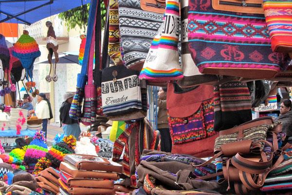 Otovalo market.