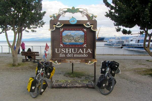 Ushuaia, fin del mundo.