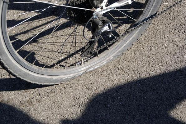 1. flat after 4'901 km