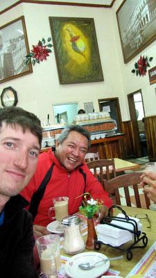 With Rodolfo at Café la Habana