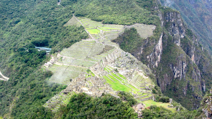 View from Wayna Picchu.
