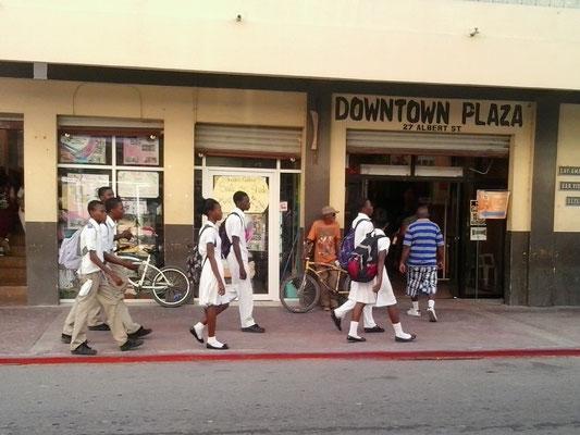 Childern in schooluniform