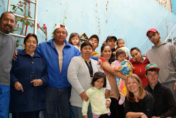 We spent 10 days with Julia's family, it was hard to say goodbye...