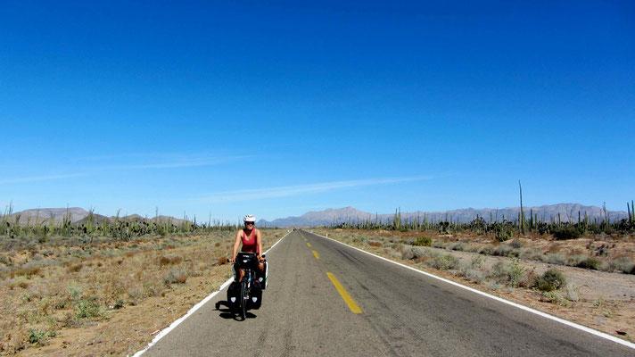 Nice flat road.
