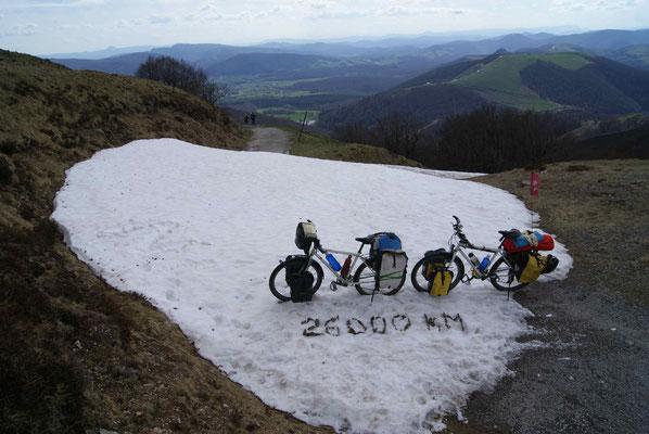 Snowfield. 26'000 km.