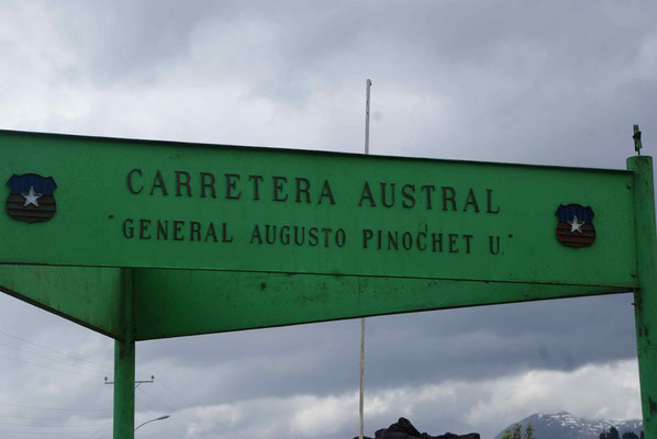 Dictator Pinochet gave the order to build this road south for military purposes.
