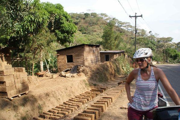 Brickearth to build houses.