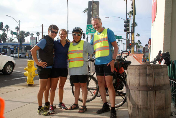 The first swiss couple we met on the bicycle, Brigitte & Hugo from Olten