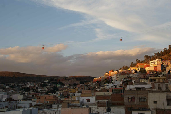 Sunset in Zacatecas