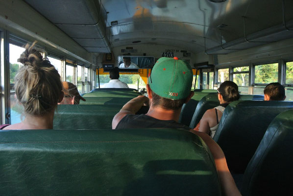Chickenbus to the Belize border