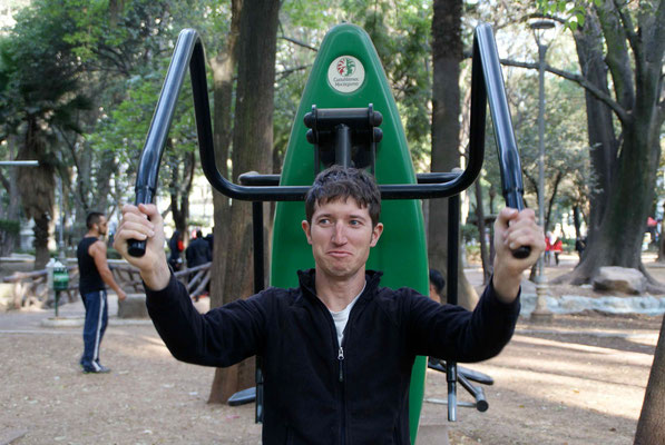 Fitness at Parc of Mexico
