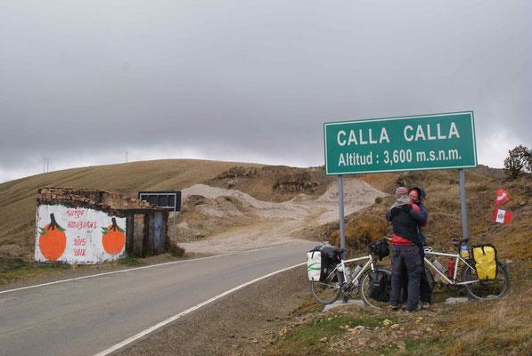 Climb to Calla Calla pass after Leymebamba.