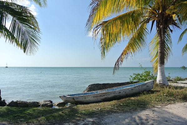 Fishervillage Sarteneja in the north of Belize