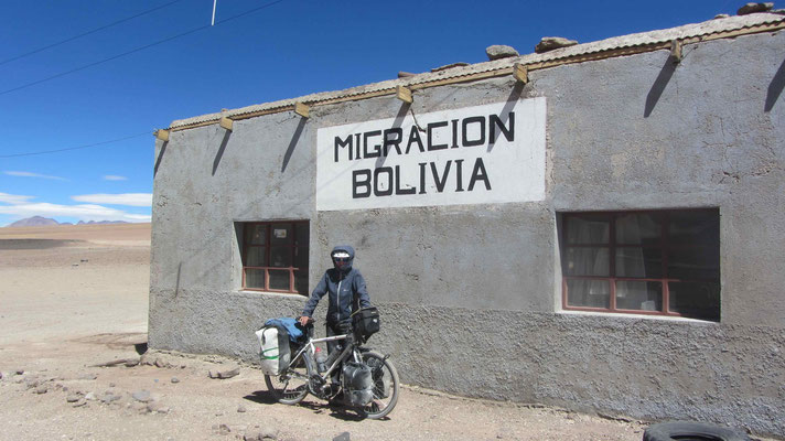 Byebye Bolivia. It was a pleasure riding through this beautiful country.
