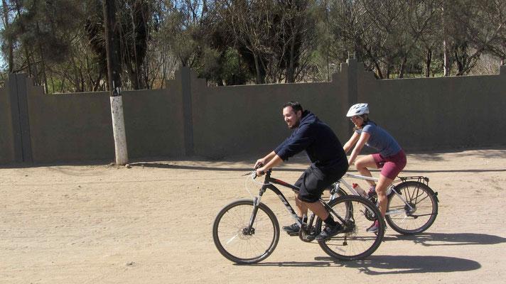 Ride with Luis through the town of Làzaro Càrdenas