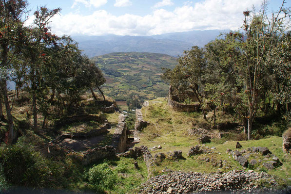 The Chachapoyas (pre-Incas) lived there about 800 - 1200 after Christ.