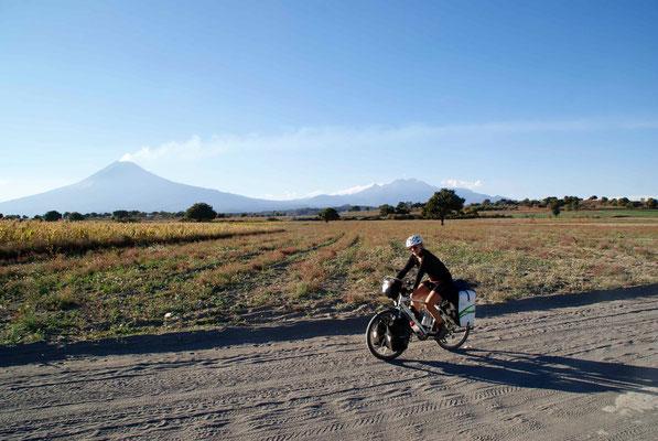 On the last kilometers until Atlixco.