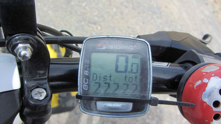 What a number 22222km!