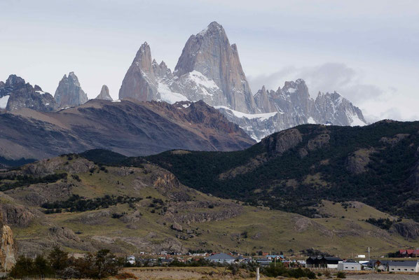 Leaving El Chaltén and Fitz Roy...