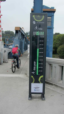 Fremont Bridge - Bike nr. 1512