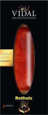 Vidal Lachs Rückenfilet Rotholz 200 g