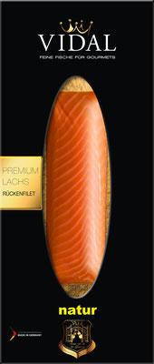 Vidal Lachs Rückenfilet natur 200 g