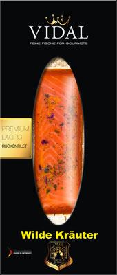 Vidal Lachs Rückenfilet Kräuter 200 g