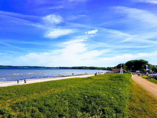 ....immer noch Ostsee.... seeehr windig.....
