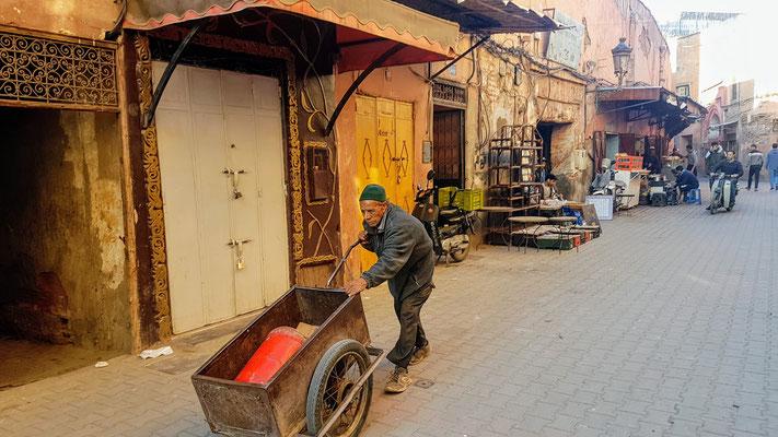 In den Gassen von Marrakech