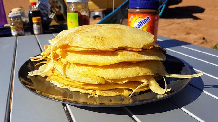 Pancake made by Pit... natürlich mit Ovi. Geht nicht besser aber länger...