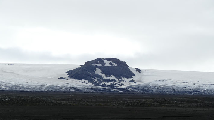 Der Vatnajökull Gletscher