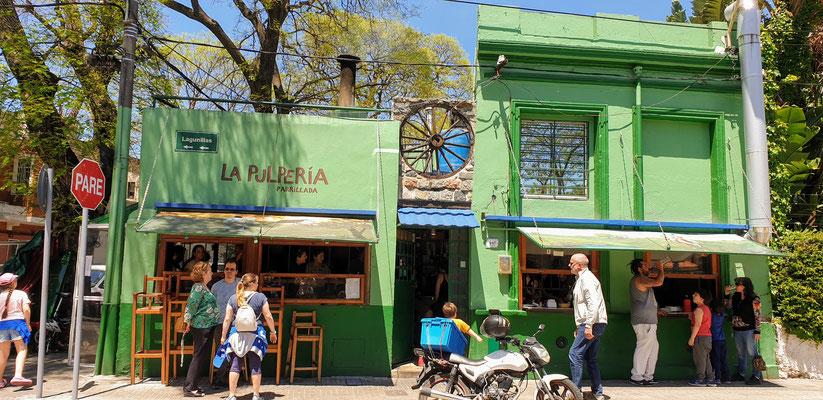 La Pulperia, die anscheinende beste Parilla in ganz Montevideo