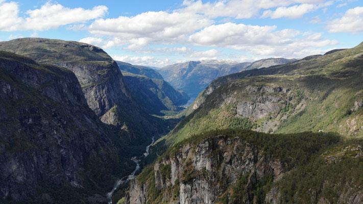 Ausblick von der Hardangervidda
