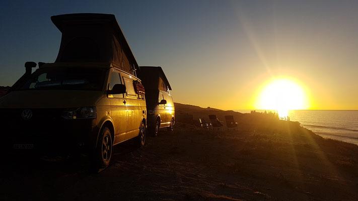 Einmal mehr, ein wunderschöner Sonnenuntergang