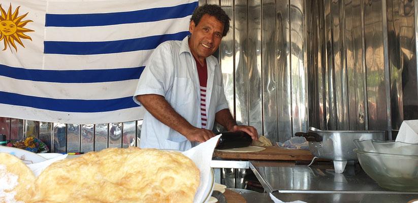 Tortas Fritas eine Leibspeise der Urugayos