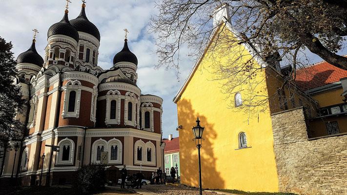 Die Orthodoxische Kirche von Tallinn