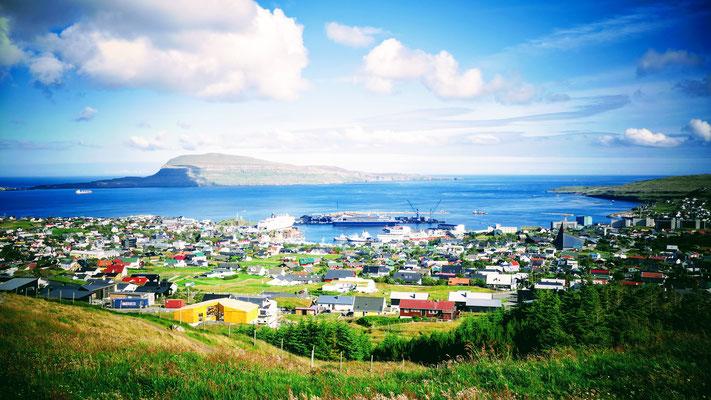 Torshavn von oben
