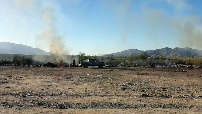 'Brings' von Argentinien: die 'Kehrichtverbrennungsanlage'