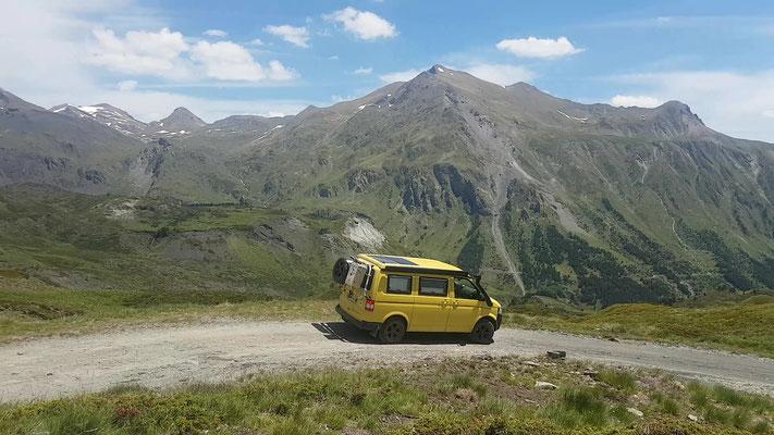 Was für ein Panorama in den Pyrenäen