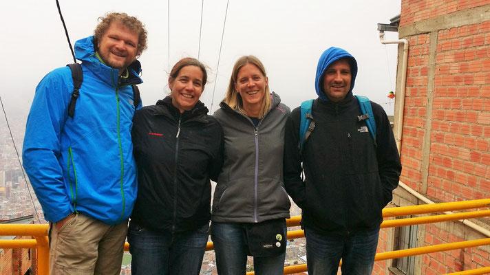 Maike und Robin aus Deutschland: Wiedersehen in La Paz