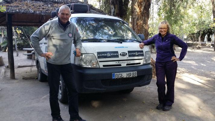 Markus und Gerlinde aus Österreich: danke für die vielen Tips!!