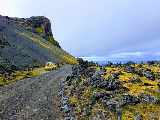 Herrliche Aussicht im Snaefellsjökull NP